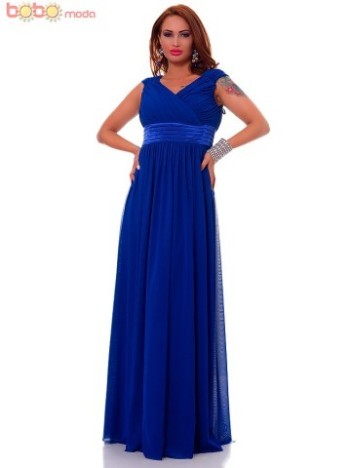 Rochie lunga DeLuxe Belissima Blue
